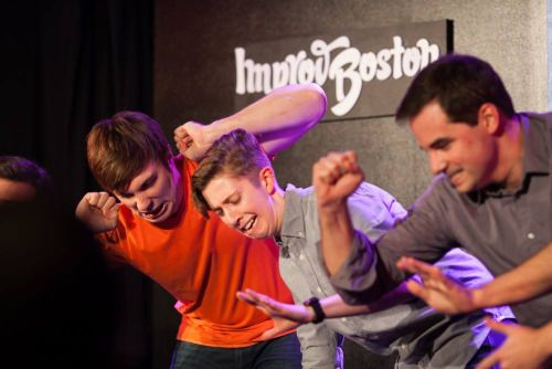 ImprovBoston — How should improvisers get out of their heads?