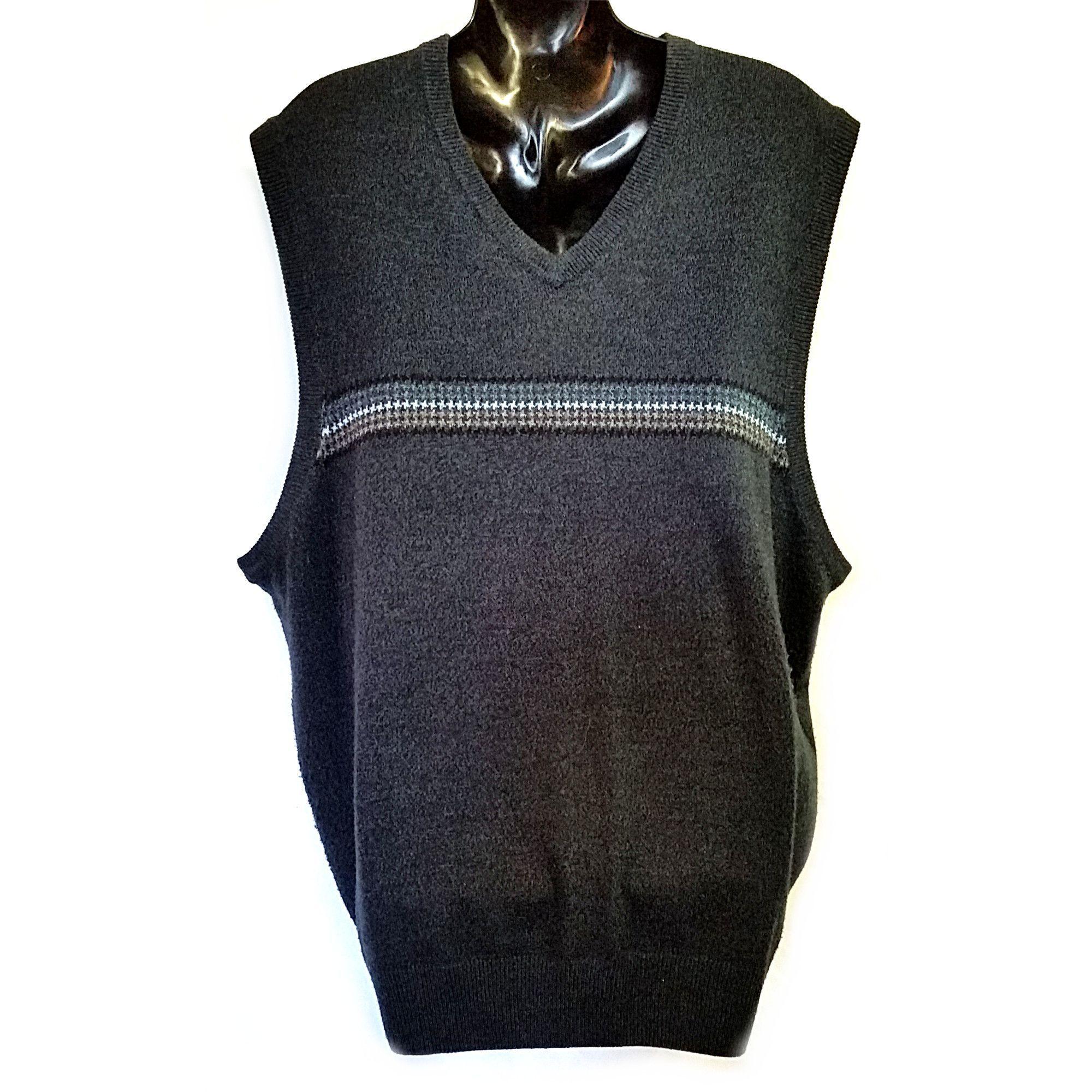 Dark Gray Sweater Vest Mens XXL Dockers Business f202 | Cardigans ...