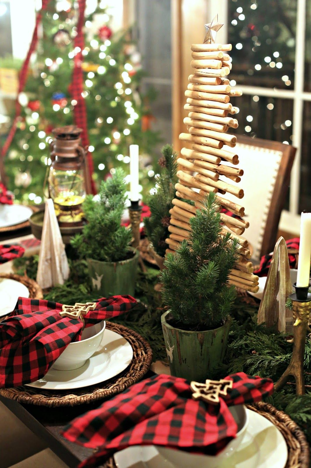 Holiday Home Tour, Guest Blogger, Christmas Decor, Home Inspo, Pottery  Barn, Plaid, Ice Skates, Tablescape, World Market, Home Goods, Holiday  Wreath, ...