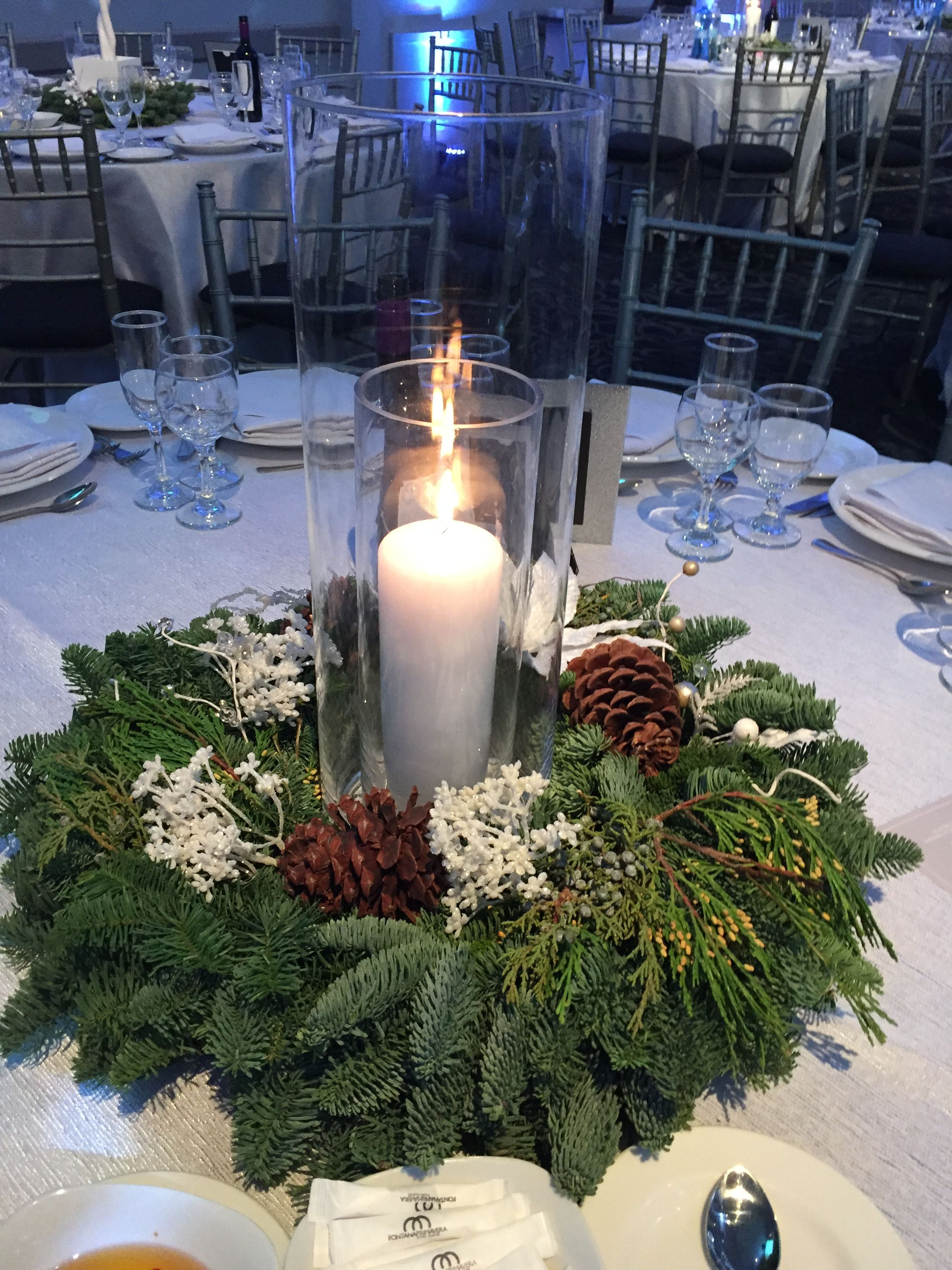 Winter Green Wedding Winter Wonderland Wedding Centerpieces Winter Wedding Centerpieces Winter Wedding Table
