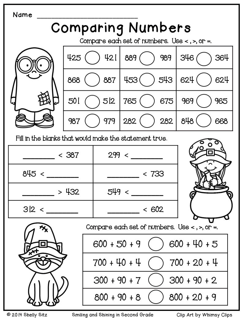 Halloween math freebie.pdf   Christmas math worksheets [ 1035 x 800 Pixel ]