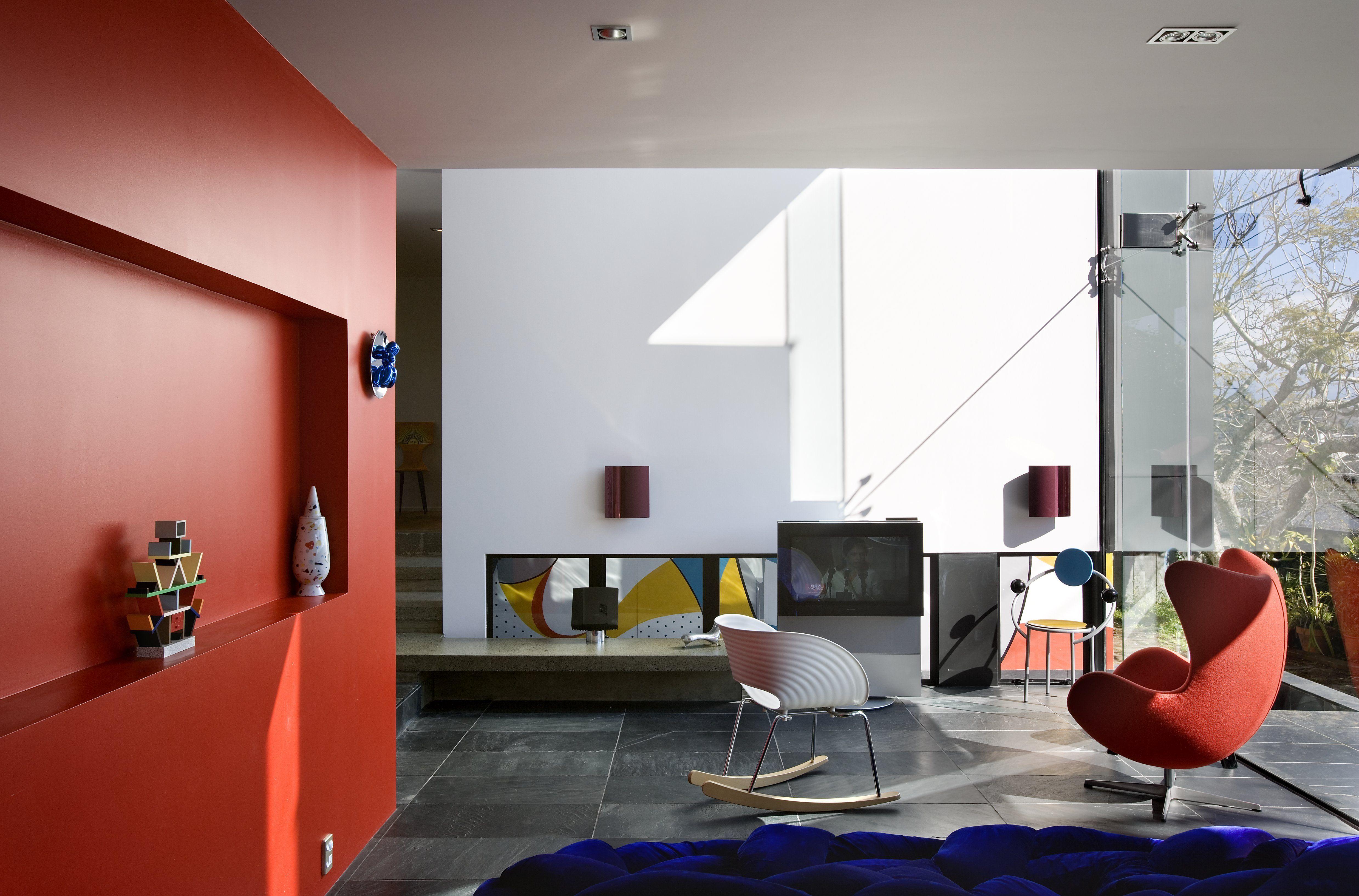 Home interior colour resene flame red feature wall  c o l o u r  p a t t e r n