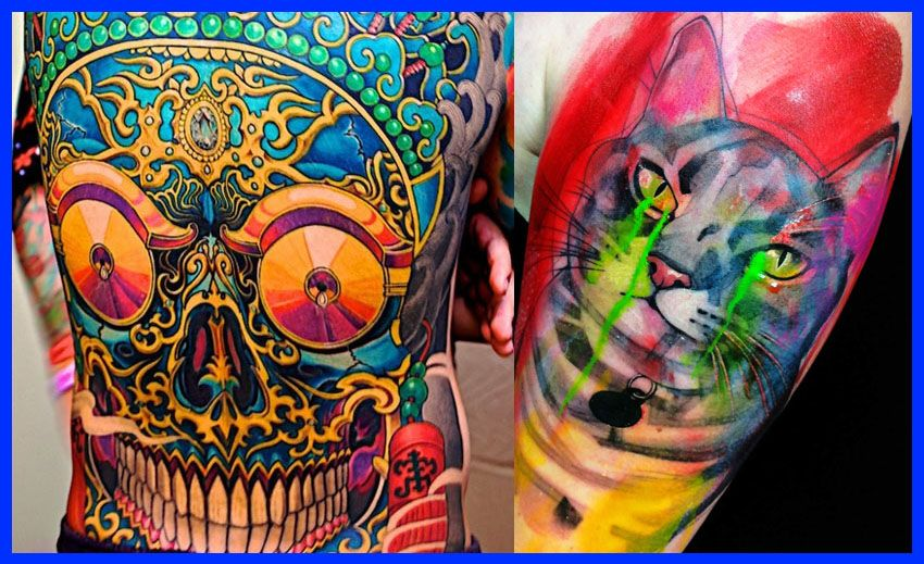 The Best Color Tattoos Colorful Tattoos Best Tattoos In The World Color Tattoo Tattoo Ink Colors Cool Tattoos For Guys
