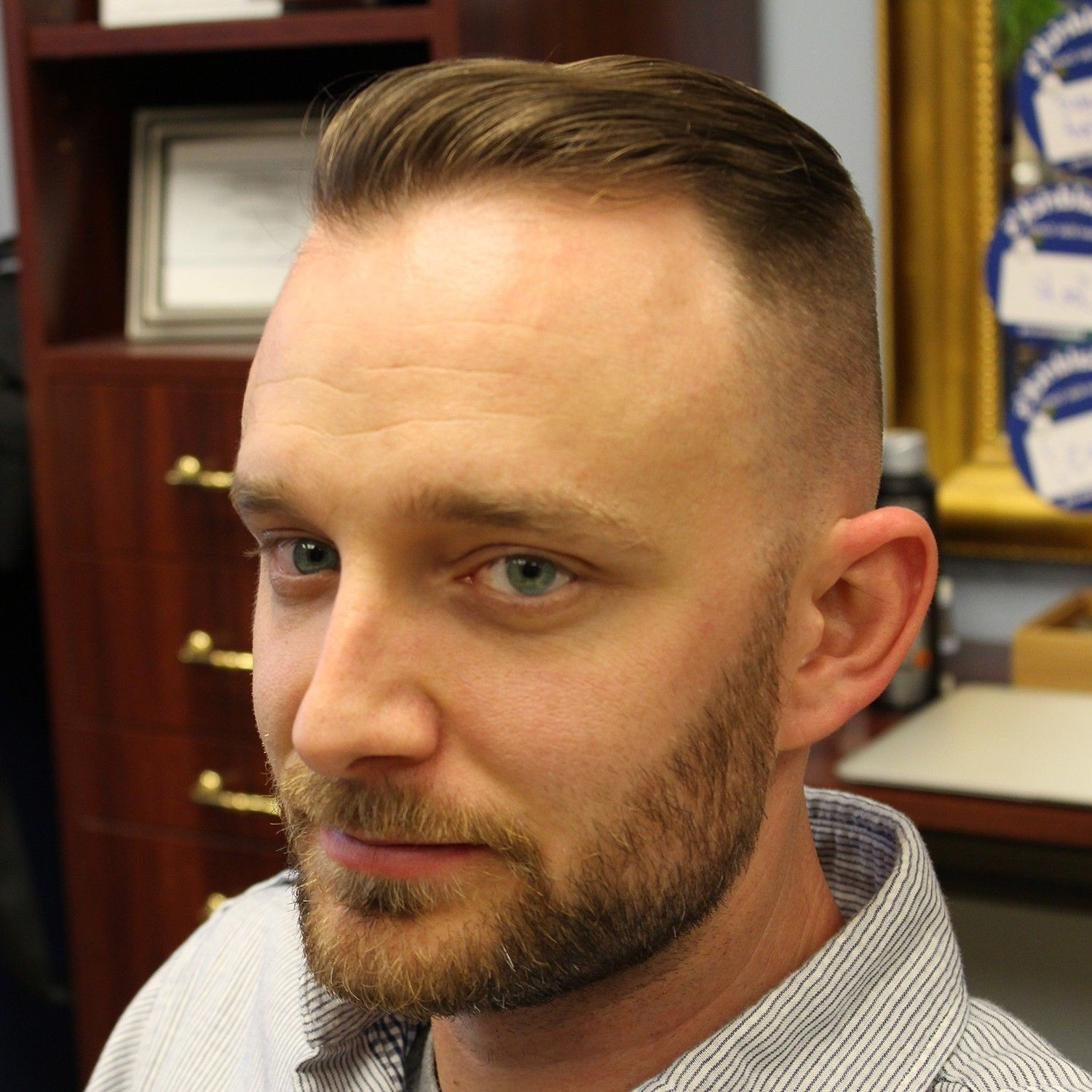 Personable Hairstyles For Balding Men 2017 Awesome Shaved Head With ...