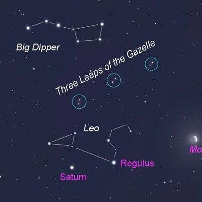 Constellation of the Week – The Three Leaps of the Gazelle This ...