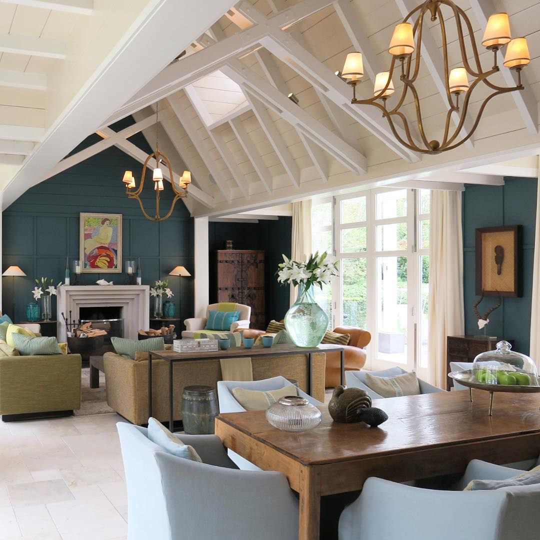 New Zealand Home Decor: The Interior Of The Alan Pye Cottage At Huka Lodge, New