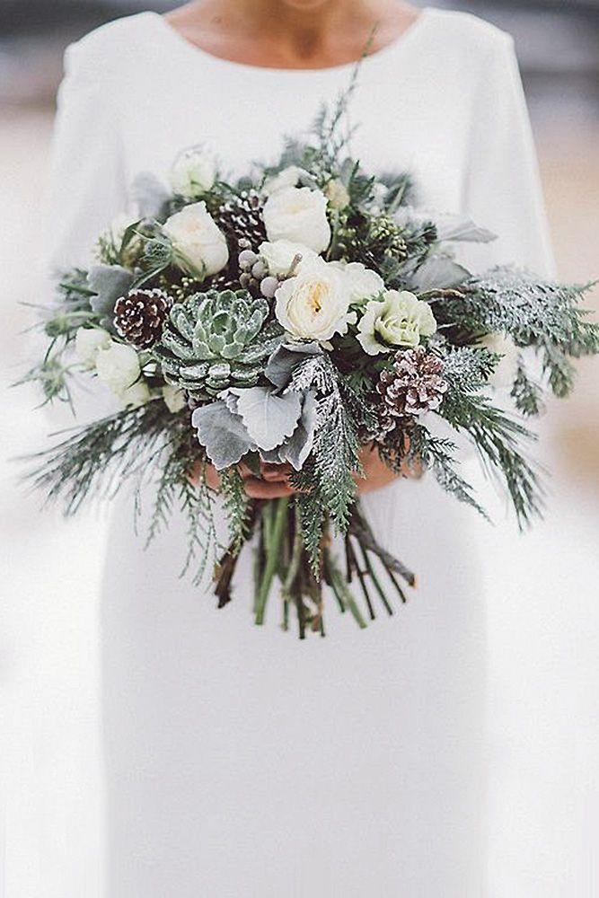 42 Stunning Winter Wedding Bouquets | Winter weddings, Winter and ...