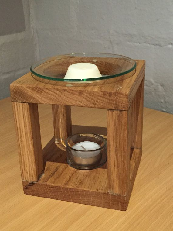 Our Beautiful Wax Melt Warmer Burner Is Handmade Using Oak And