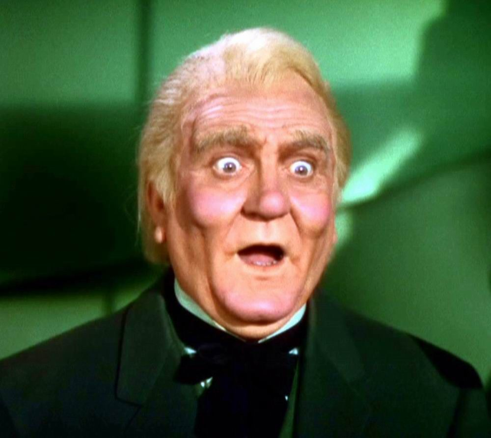 Frank morgan as the wizard of oz he also plays the for The morgan