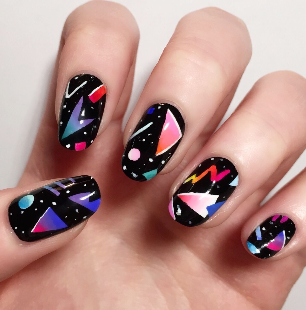 A Life Less Ordinary Iheartnails Blog Nail Art Inspired By Yoko