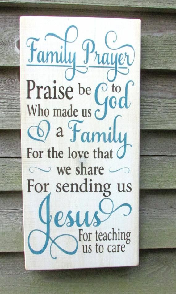 Family Rules Sign Family Prayer Sign Primitive Home Decor Shabby Magnificent Home Decor Signs Shabby Chic