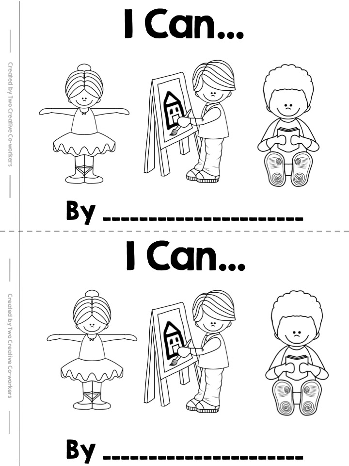 I Can Read and Write High Frequency Word Book FREEBIE