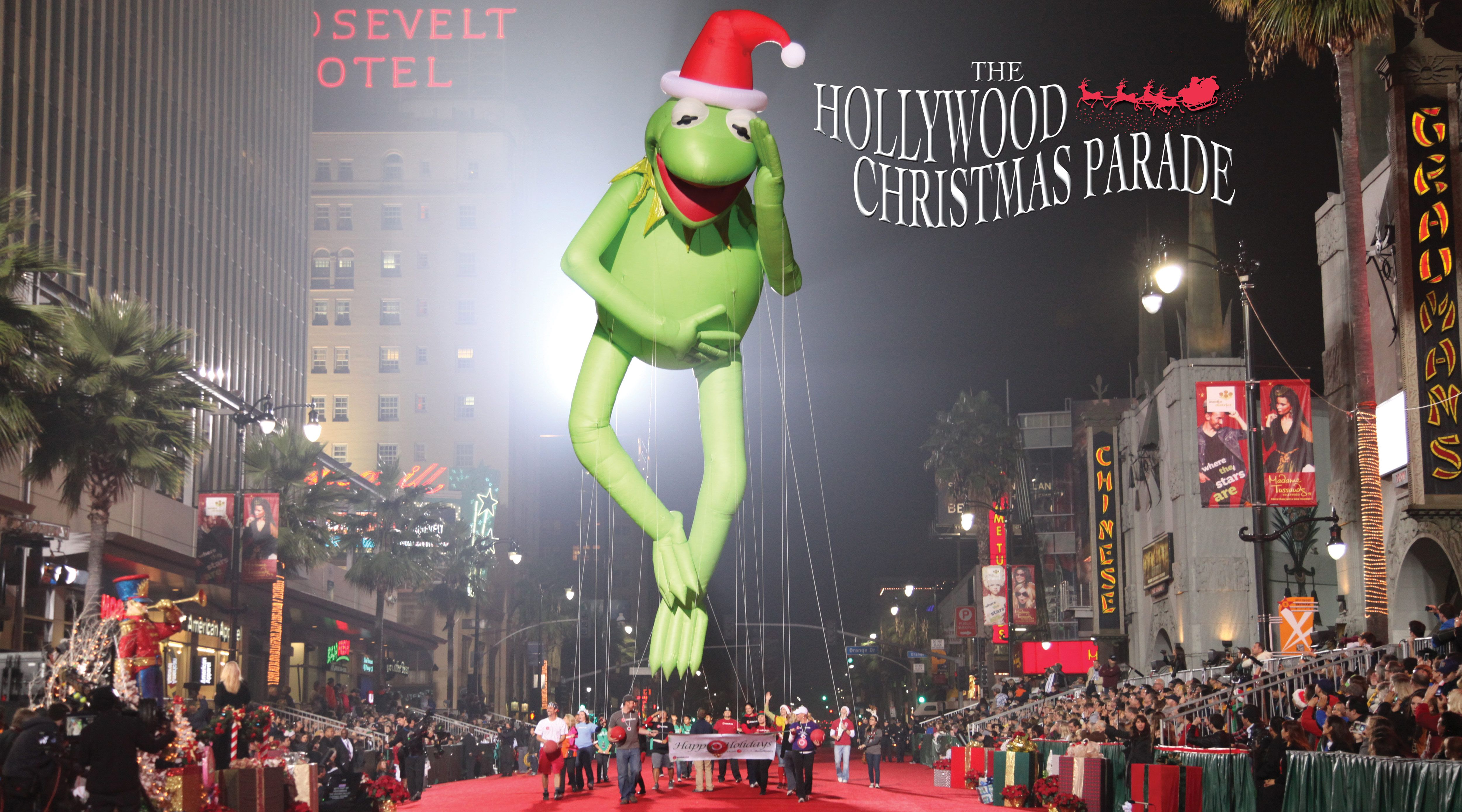The Hollywood Christmas Parade is star-studded and one of the best night parades in the state.
