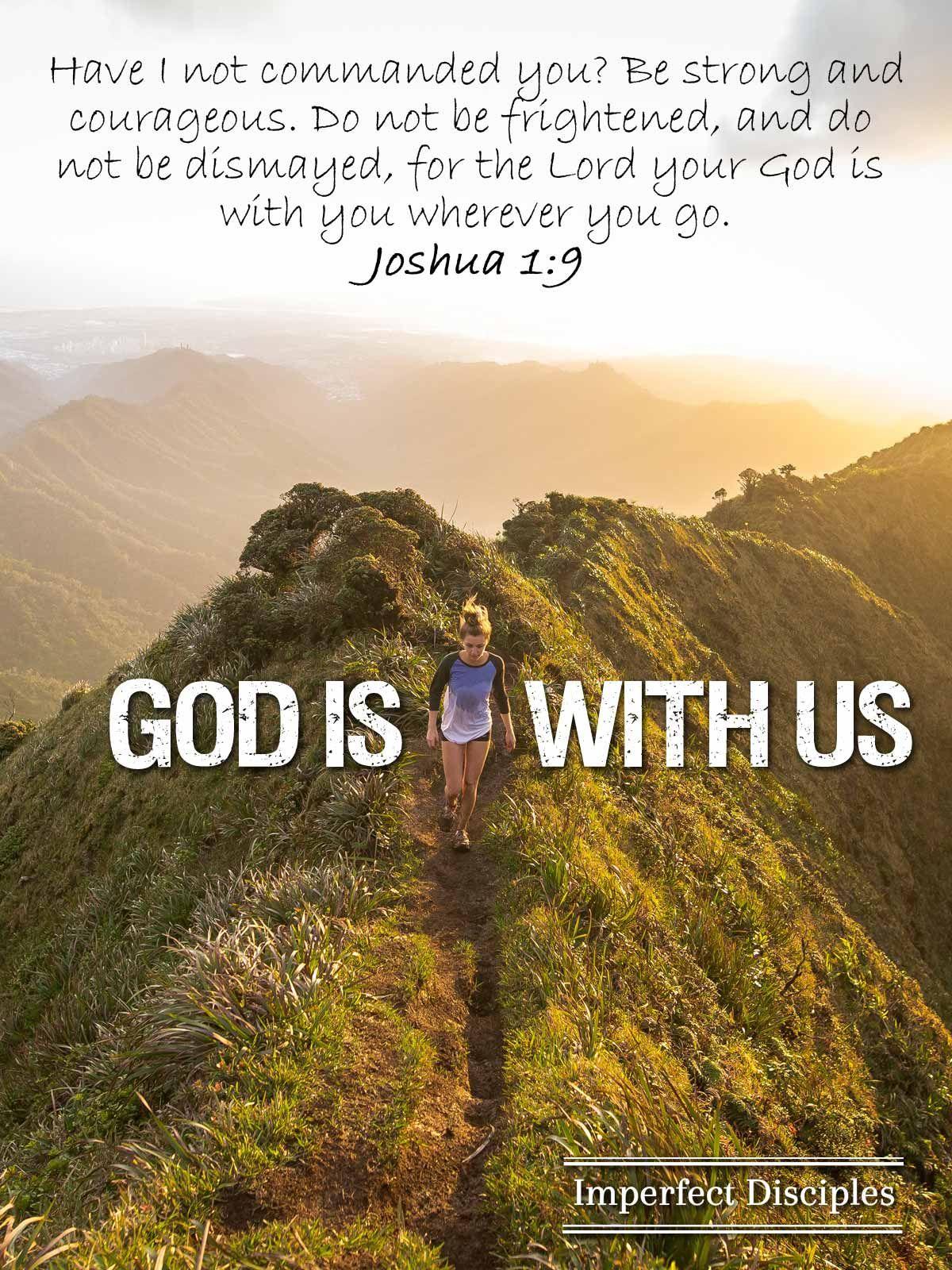 god is us joshua scripture memory song scripture