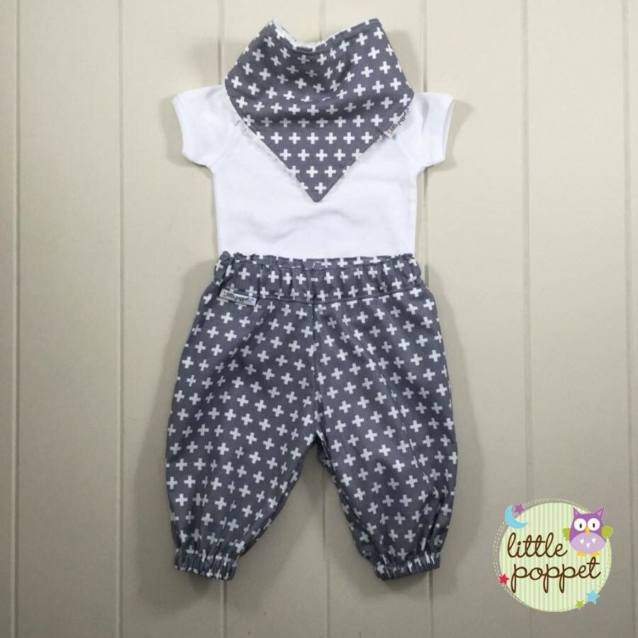 Harem Pants Baby Toddler Pdf Sewing Pattern And Toddlers Mom N Bab Long Blue Polkadot Size 4t Easy To Sew Clothes