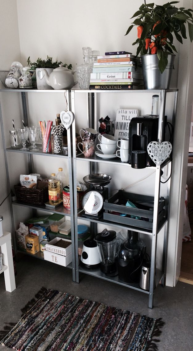 Hyllis från Ikea, billig och otroligt snygg! | Inredning | Pinterest ...