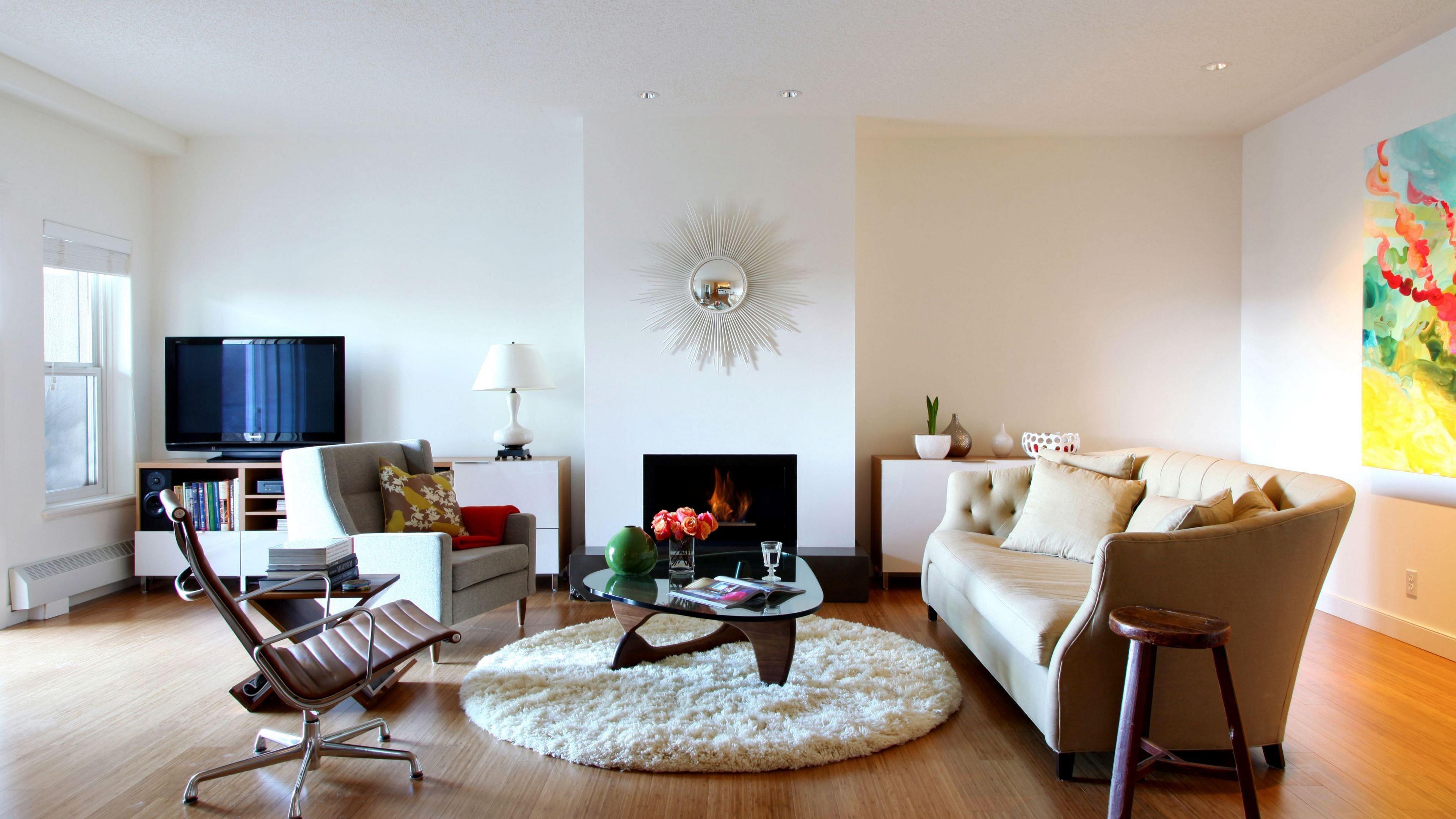 Living Room Fireplace 3840x2160 Ultra Hd Wallpaper Living Room Designs House Interior Minimalist Living Room