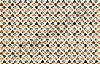 Tassotti - Paper Toscana rossa-blu Multi-use decorative paper for cardboard articles, origami, découpage, gift wrap 85 gr