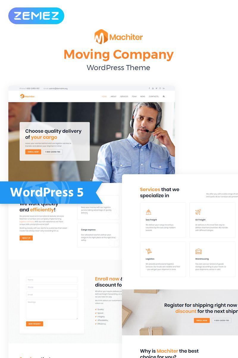Machiter - Logistics Multipurpose Classic Elementor WordPress Theme