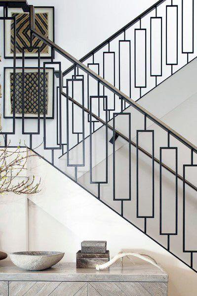 Top 70 Best Stair Railing Ideas - Indoor Staircase Designs