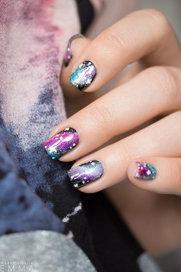Galaxy Nails | Pinterest | Galaxy nail, Diy manicure and Nail stuff