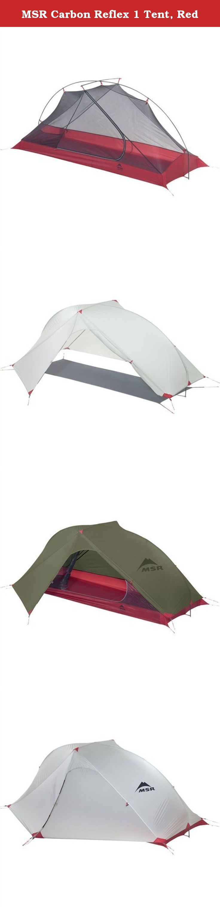 MSR Carbon Reflex 1 Tent Red. The MSR carbon Reflex 1 tent is a lightweight non-freestanding backpacking tent that crosses the barrier from ultralight to ...  sc 1 st  Pinterest & MSR Carbon Reflex 1 Tent Red. The MSR carbon Reflex 1 tent is a ...