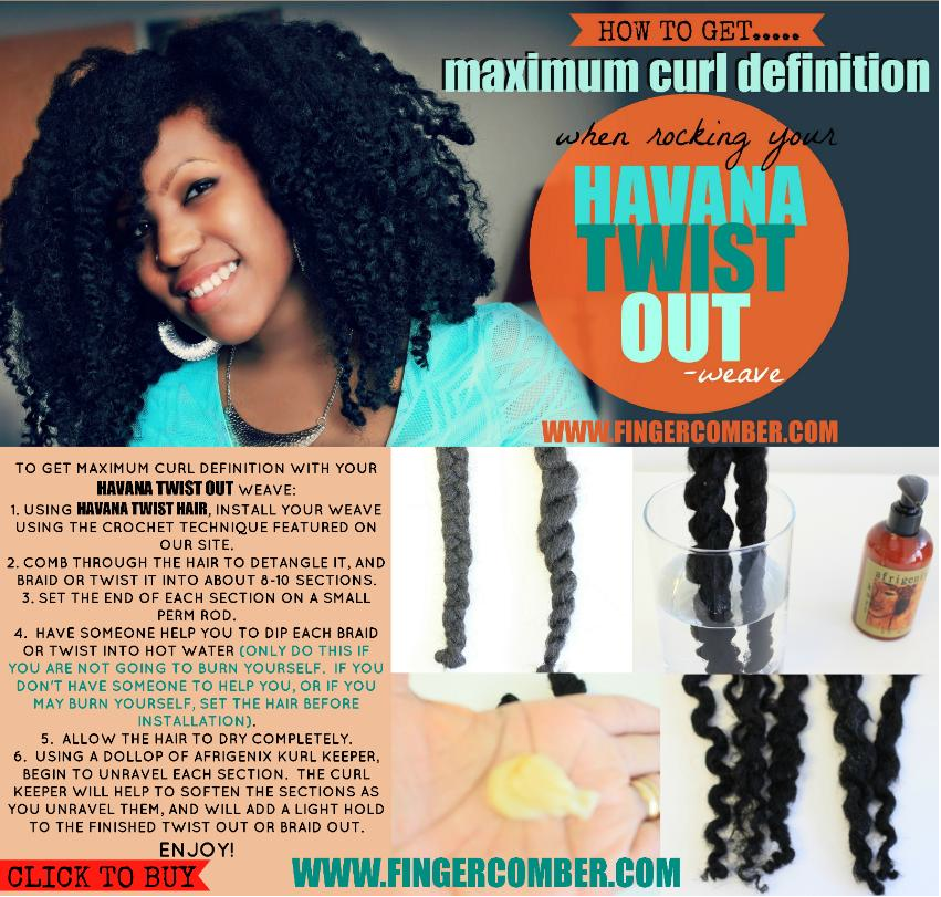Havana Twist Hair To Get Maximum Curl Definition With Your Havana