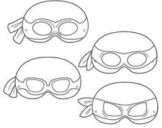 picture about Printable Ninja Turtle Mask Template identify printable teenage mutant ninja turtle mask template - Google