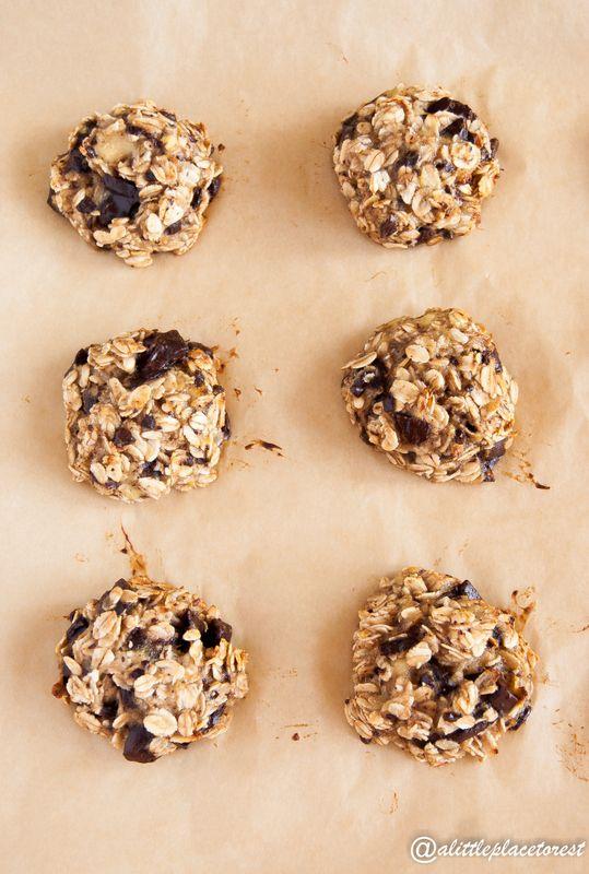 Biscotti vegan (con 3 ingredienti!) - Vegan cookies (3 ingredients only!)