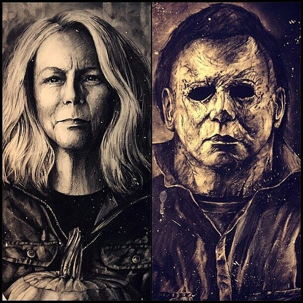 Laurie and Michael • Halloween