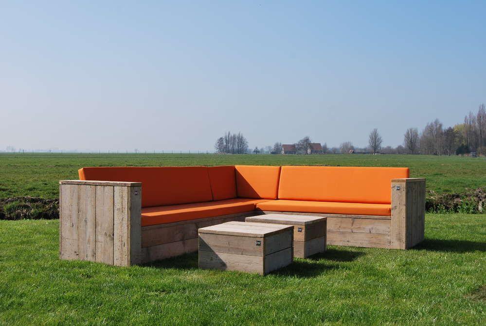 Block Lounge Eckbank - Gartenmöbel aus Bauholz | Möbel | Pinterest ...