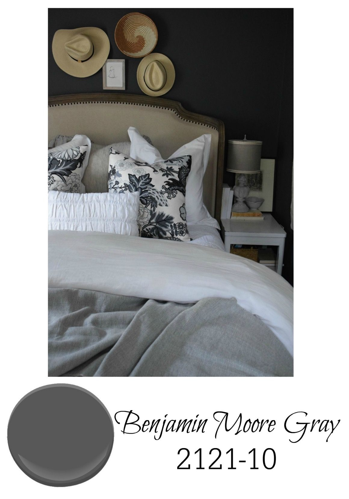 Best Gray Paint For Bedroom Walls From Benjamin Moore