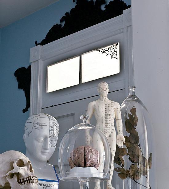 Create a stylish Halloween home Decoration, Holidays halloween and - halloween house decorating ideas