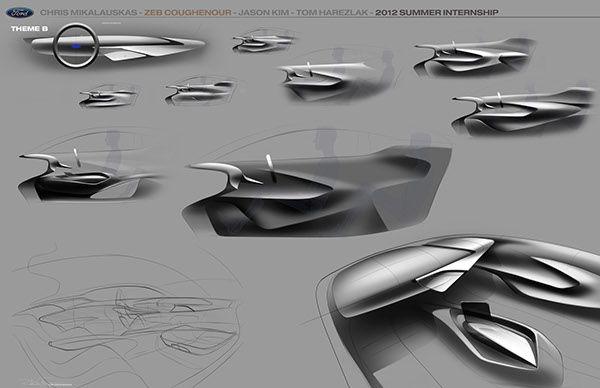 Ford 2025 Dual Premium Interior Concept on Behance