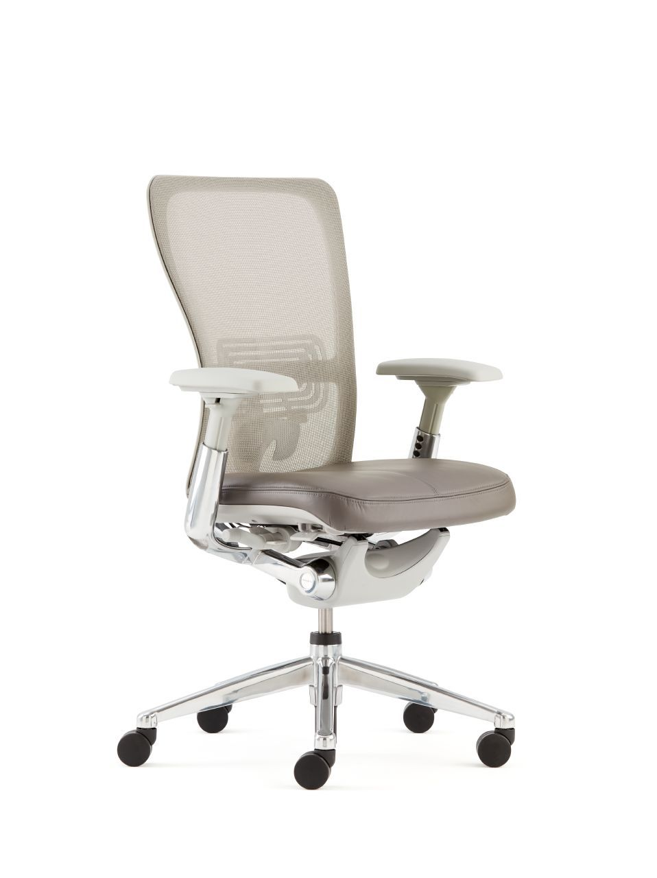 haworth zody chair steel armless ergonomic desk chairs