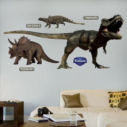 Dinosaurs Group Fathead Dinosaur Wall Decals Dinosaur Wall