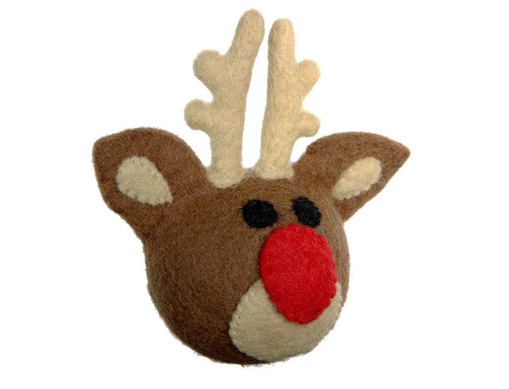 Rudolph Dog Toy Christmas Dog Toy Dog Toys Interactive Dog Toys