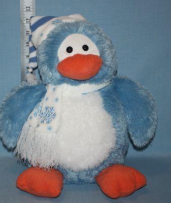 Animal Adventure Target Blue White Penguin Plush Animal Adventure