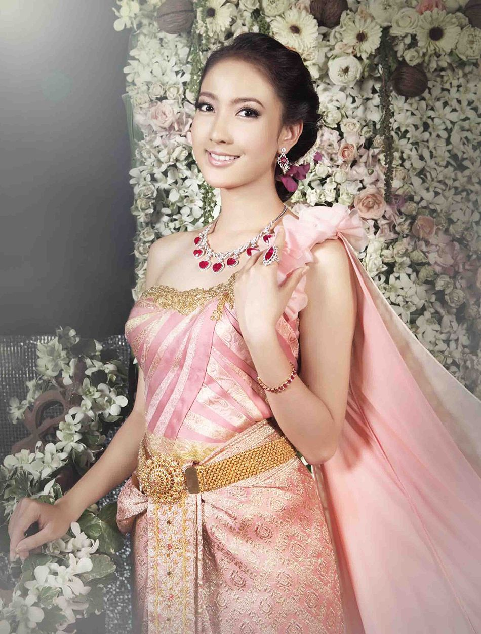 ไทยประยุกต์ | khmer traditional clothes | Pinterest