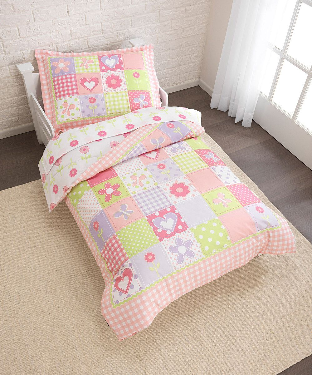 Look at this Dollhouse Cottage Bedding Set on #zulily today!
