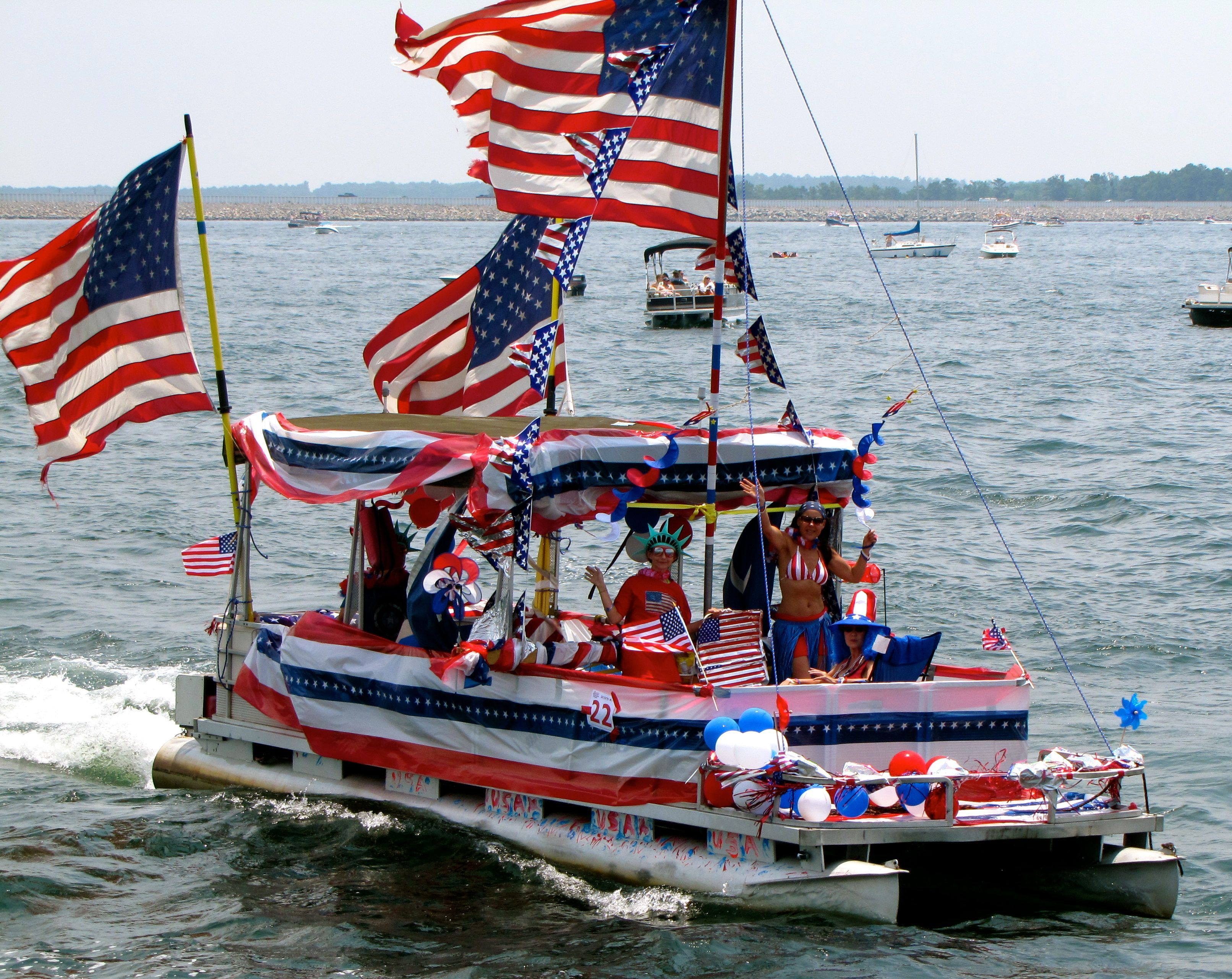 Photos of the 2011 Lake Murray 4th of July Boat Parade Winners ...