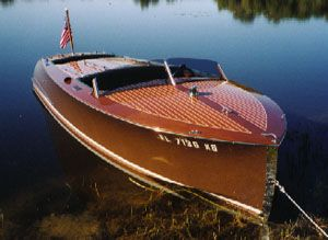 Biscayne 18 Foot Classic Mahogany Runabout Boat Design You Can Build Found The Plans Now