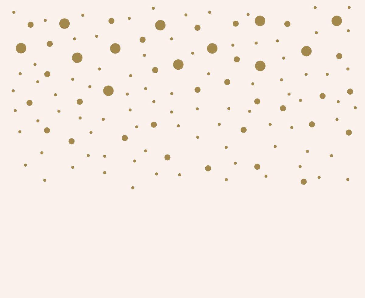 Gold Dot Decals Polka Dot Wall Decal Gold Vinyl Dots