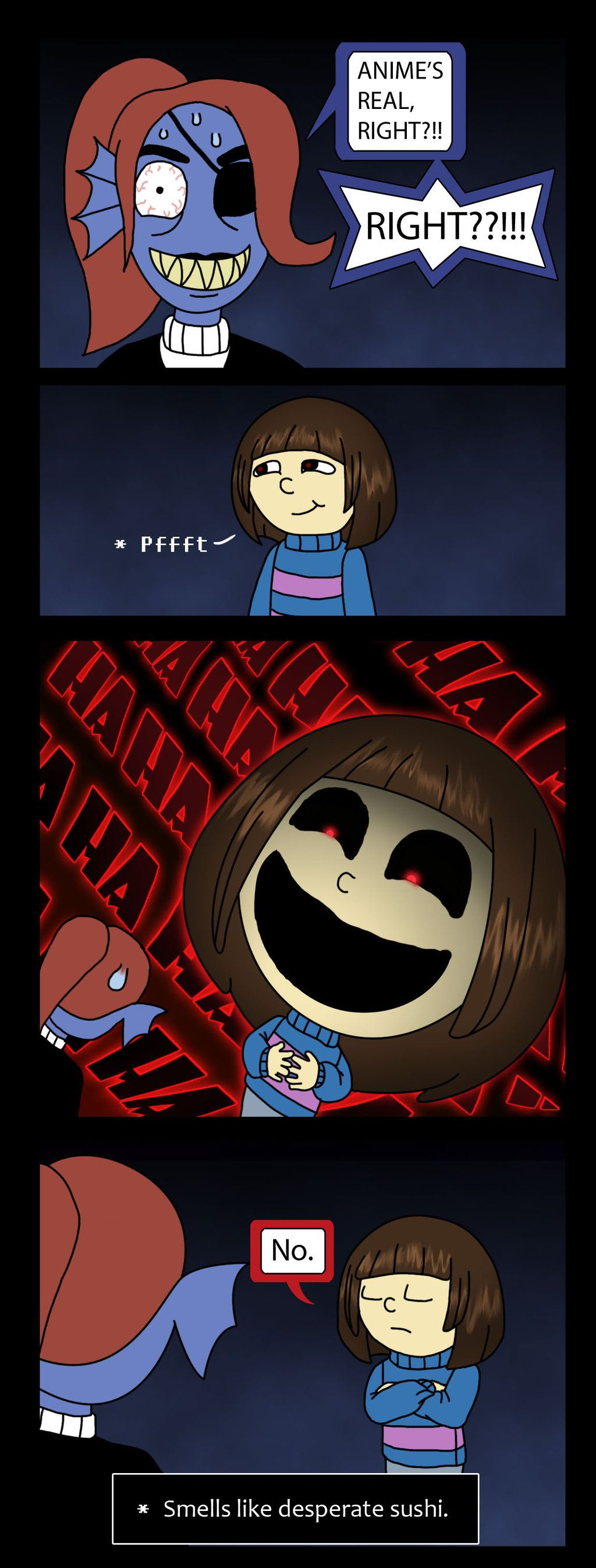 Pin by albedo on undertale anime sushi