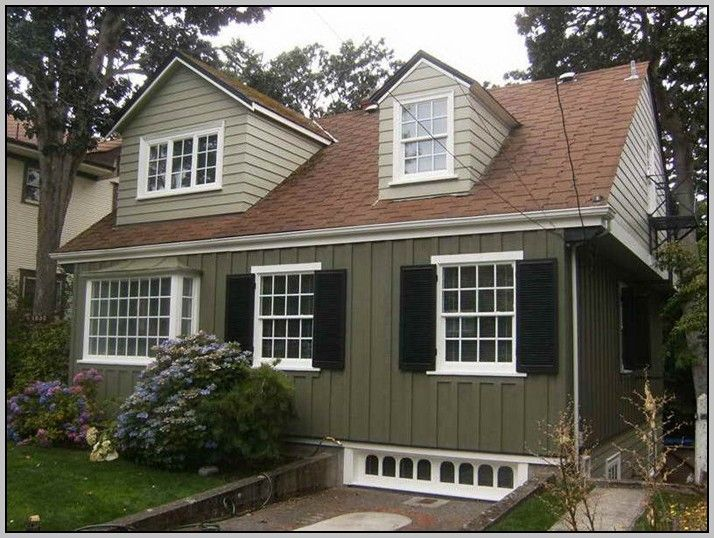Modern Exterior Design Ideas | Exterior paint colors, Colonial and ...