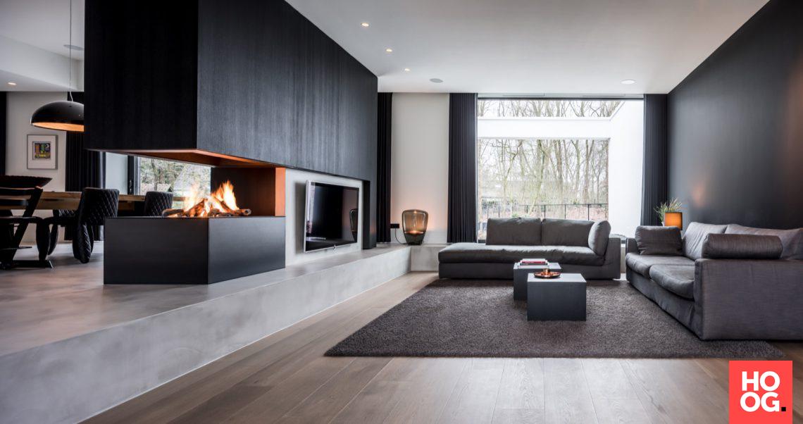 Strakk luxe interieur hoog □ exclusieve woon en tuin
