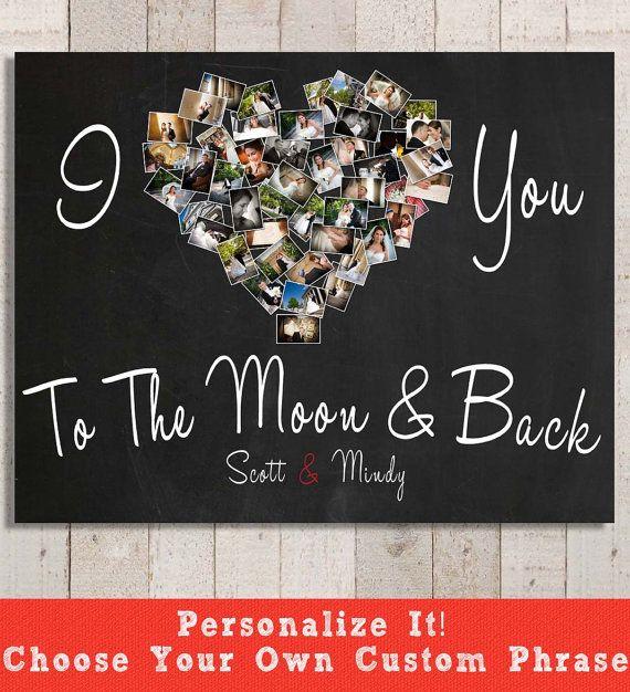 I Love You Print  Birthday Gift Romantic Gift  por YourLifeMyDesign