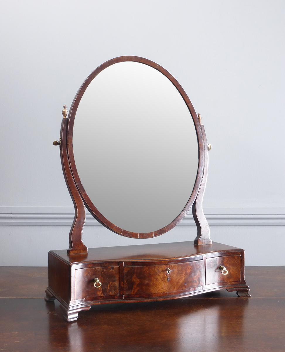 Antique Dressing Table Mirror Georgian Toilet Mirror 18th Century Dressing Table Mirror Georgian Swing Mirror Table Top Mirror Box Mirror Antique Mirrors Mirror Table Dressing Table Mirror Antique Mirror