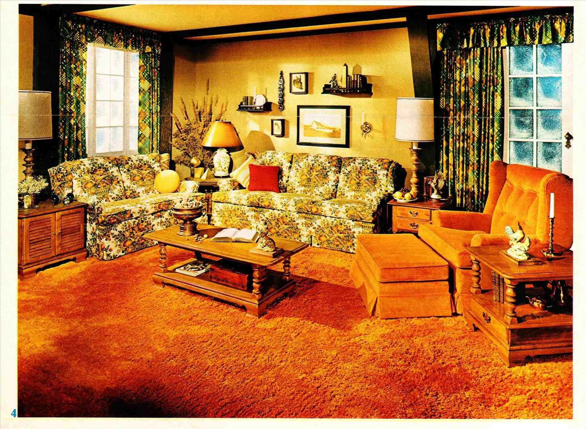 70s Living Room Decor With Images 70s Home Decor 70s Decor