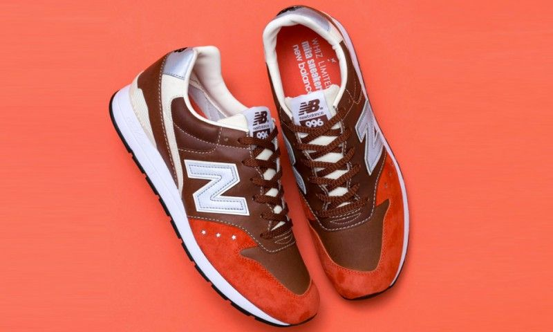 """newest f46f8 6cb92 New Balance, WHIZ LIMITED and mita sneakers Preview the MRL996 """"Orange Rust"""""""